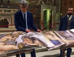 В Ватикане издан трехтомник фотографий фресок Сикстинской капеллы в натуральную величину