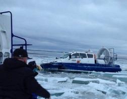 В Валаамском монастыре наградили участников операции по спасанию людей из ледовых торосов