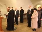 В Новоспасском монастыре освящена икона святителя Луки (Войно-Ясенецкого), которая будет отправлена на МКС