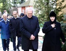 Гродненский Рождество-Богородичный монастырь посетили главы таможенных служб шести государств