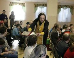 В психоневрологическом интернате агрогородка Домоткановичи состоялось Соборование