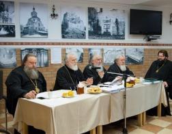 Митрополит Павел возглавил заседание комиссии Межсоборного присутствия по церковному просвещению и диаконии