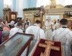 Митрополит Крутицкий и Коломенский Ювеналий возглавил торжества, посвященные 150-летию со дня рождения священномученика Алексия Смирнова