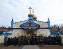 Епископ Туровский и Мозырский Леонид возглавил престольное торжество тюремного храма