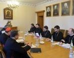 В Москве прошло очередное заседание Рабочей группы по культурному сотрудничеству между Русской Православной Церковью и Римско-Католической Церковью