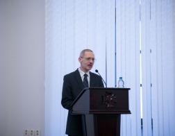 В МинДС выступил с лекциями профессор Санкт-Петербургской духовной академии Михаил Шкаровский