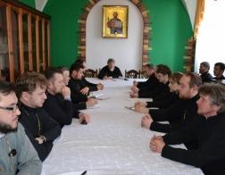 Состоялась встреча священнослужителей Мозыря и сельского духовенства Мозырского, Ельского и Наровлянского районов