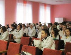 В Витебском государственном медицинском колледже провел лекцию священнослужитель