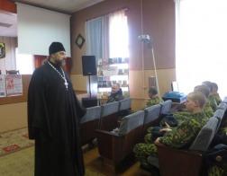 Великопостная беседа с военнослужащими прошла в Могилеве