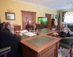 Блаженнейший митрополит Онуфрий встретился с первым заместителем председателя Верховной Рады Украины