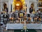 В пятницу первой седмицы Великого поста Святейший Патриарх Кирилл совершил Литургию Преждеосвященных Даров в Храме Христа Спасителя в Москве
