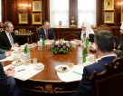 Состоялась встреча Святейшего Патриарха Кирилла с Президентом Республики Молдова Игорем Додоном