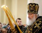 В день памяти св. блгв. кн. Даниила Московского Предстоятель Русской Церкви совершил Литургию в Даниловом ставропигиальном монастыре