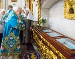 В день памяти праведной княгини Софии Слуцкой митрополит Павел совершил Литургию в Свято-Духовом кафедральном соборе города Минска