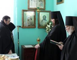 В Юровичском монастыре возобновлен чин о Панагии