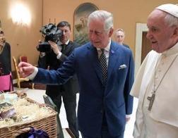 Папа Римский Франциск встретился с наследником британского престола принцем Чарльзом
