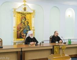 Состоялась предпасхальная встреча Патриаршего Экзарха с представителями средств массовой информации