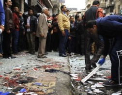 Число погибших при взрыве у церкви в Александрии возросло до 16 человек