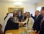 Председатель Отдела внешних церковных связей встретился с председателем Национального совета Сирии