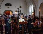В канун Великого Четвертка Святейший Патриарх Кирилл принял участие в вечернем богослужении в Марфо-Мариинской обители милосердия