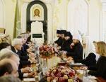 Святейший Патриарх Кирилл встретился с Президентом Итальянской Республики Серджо Маттареллой