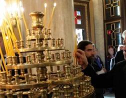 Богослужение Великой пятницы в Благовещенском соборе в Афинах посетил президент Греции