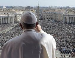 Папа Римский обратился к верующим с традиционным посланием Urbi et Orbi