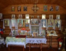 Епископ Туровский и Мозырский Леонид совершил освящение часовни в деревне с пятью жителями