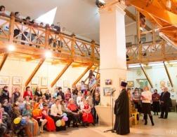 В Витебске открылась выставка «Божий мир глазами детей»