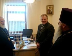 Состоялась встреча Патриаршего Экзарха всея Беларуси и начальника Департамента исполнения наказаний МВД Республики Беларусь