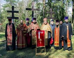 Минское духовенство молитвенно помянуло невинно убиенных в Куропатах