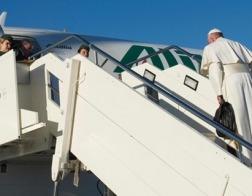 Папа Римский Франциск вылетел из Рима в Каир