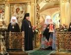 Митрополит Крутицкий Ювеналий совершил Литургию в московском храме святителя Николая Мирликийского в Хамовниках