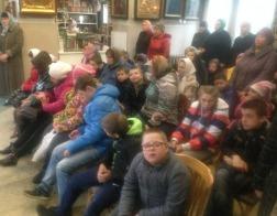 В солигорском кафедральном соборе была совершена Литургия для воспитанников ЦКРОиР