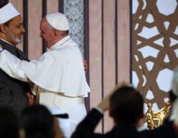 Папа Римский Франциск выступил на миротворческом форуме в Университете Аль-Азхар