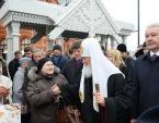 Святейший Патриарх и мэр Москвы С.С. Собянин посетили фестиваль «Пасхальный дар» в столице