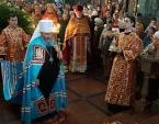 В Неделю святых Жен-мироносиц Предстоятель Украинской Православной Церкви возглавил Литургию в кафедральном соборе Житомира