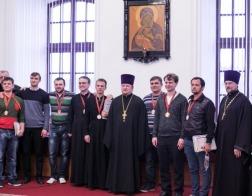 На базе Минской духовной семинарии прошел спортивный «Пасхальный турнир»