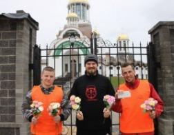 Пробежка в честь праздника жен-мироносиц прошла в Солигорске