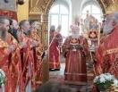 В праздник Собора новомучеников и исповедников Коломенских Патриарший наместник Московской епархии возглавил торжества в Коломне