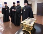 Ковчег с мощами святой преподобномученицы Елисаветы Феодоровны принесен в Санкт-Петербург