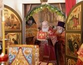 Святейший Патриарх Кирилл совершил Литургию в Никольском Шостьенском ставропигиальном женском монастыре