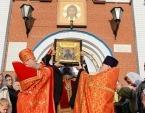 Состоялось принесение чудотворной иконы Божией Матери «Умягчение злых сердец» в Костанайскую, Петропавловско-Булаевскую и Кокшетаускую епархии