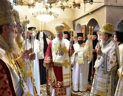 Президент Греции принял участие в церковных торжествах в день памяти св. Ефрема Нового