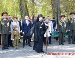 Архипастыри Белорусского Экзархата приняли участие в праздновании Дня Победы