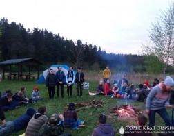 Международный Георгиевский слет православных скаутов состоялся на Гродненщине