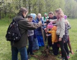 В память 700-летия Новогрудской епархии высажен фруктовый сад