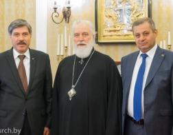 Состоялась встреча Патриаршего Экзарха и Чрезвычайного и Полномочного Посла Палестины в Республике Беларусь