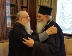 Митрополит Филарет принял делегацию Элладской Православной Церкви