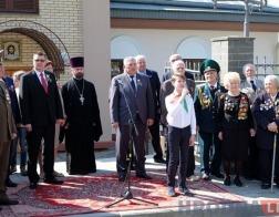 Аллея «Сирень Победы» заложена рядом с Коложской церковью в Гродно
